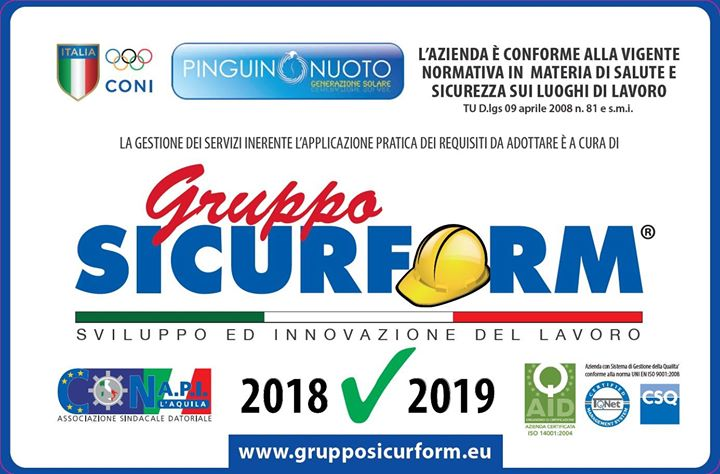 Pinguino Village Avezzano shared Gruppo Sicurform S.r.l's post