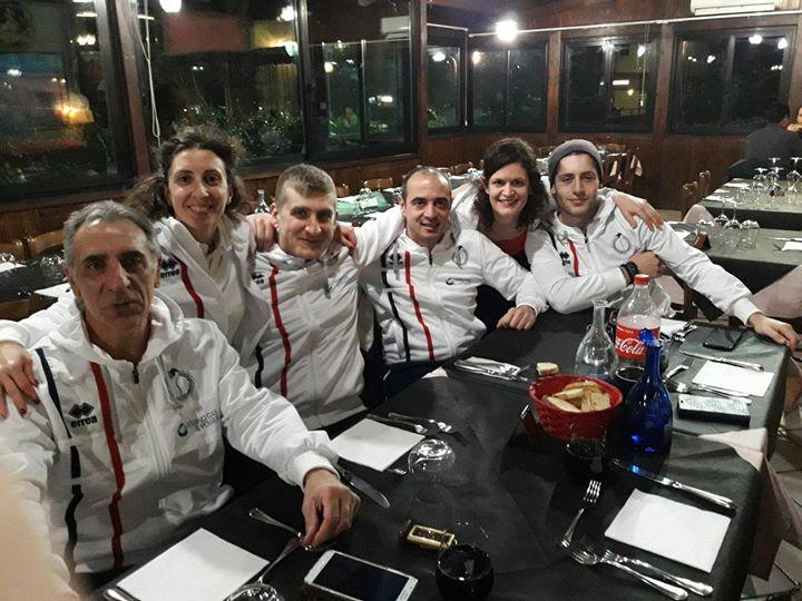 Squadra master seguita dal tecnico Alfredo Orazi impegnata nel primo trofeo AB Team. Miglioramenti…