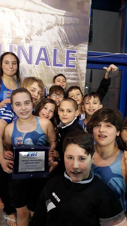 Finali trofeo primaverile Abruzzo 2024 Pinguino Nuoto 3° società classificata. Ottimi risultati per la…