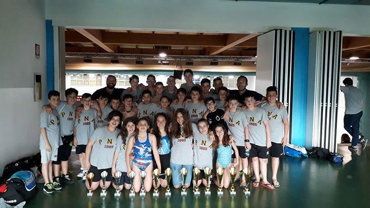 Si conclude il 9°meeting dello Squalo Blu di San Marino per i nostri atleti.…
