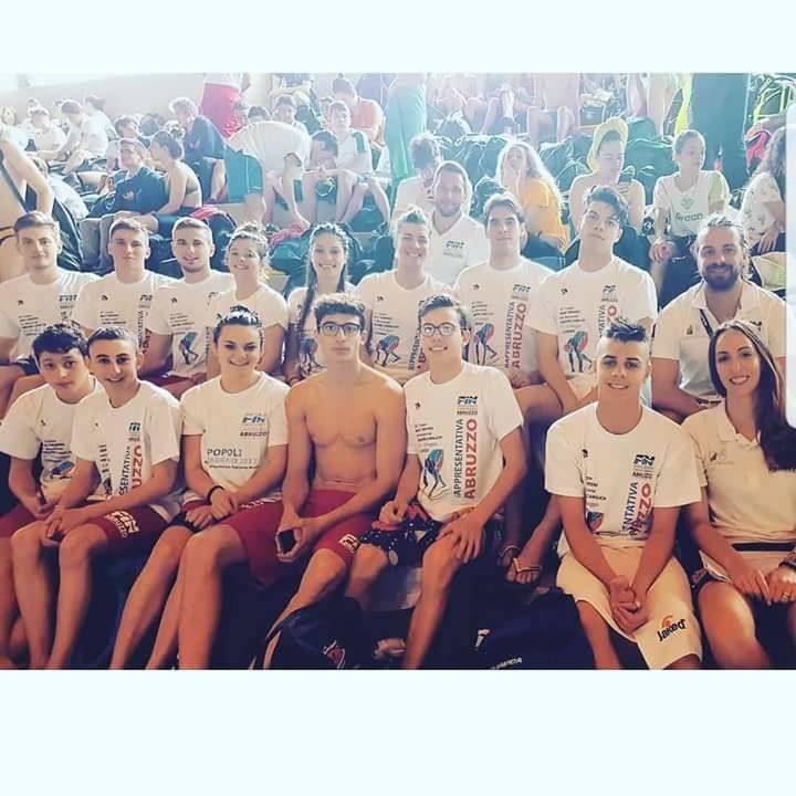 Team Abruzzo in trasferta al meeting coppa Mar Tirreno di Livorno. Accompagnatore della rappresentativa…