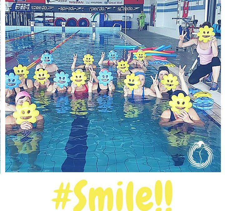 Parola d'ordine: sorridere sempre! Keep calm and #smile.. Buona settimana con #ACQUAFITNESSPINGUINO. Seguici su