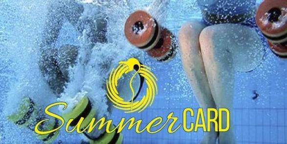 SUMMERCARD e scegli tu la durata del tuo abbonamento estivo!! Ultimissime card attivabili!!! #acquafitnesspinguino…