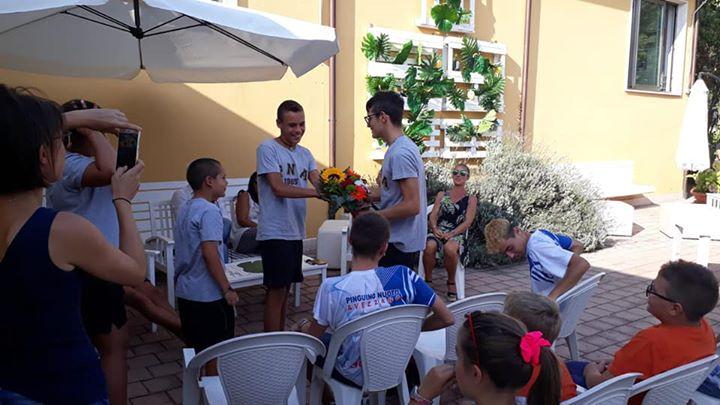 Questo pomeriggio convocazione delle squadre agonistiche per salutare l'atleta Alessandro Bianchi, campione italiano dei…