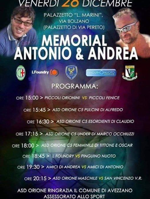 ▪️28 Dicembre – Memorial Antonio & Andrea La #Pinguino sostiene anche quest'anno questa giornata…