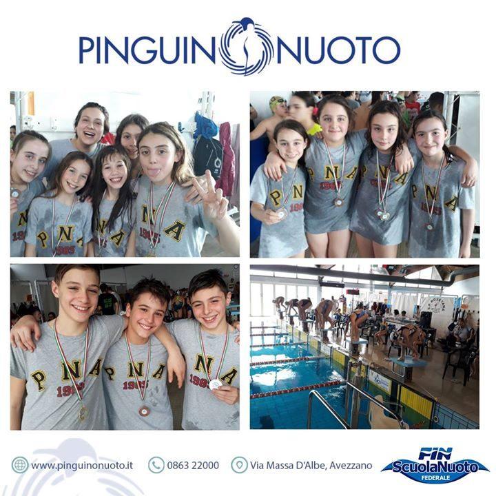 Campionato Regionale invernale di salvamento. Pioggia di Medaglie per la squadra Pinguino! Campioni regionali…