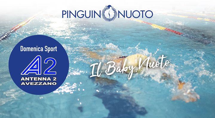 """""""Il Baby Nuoto #Pinguino"""" Parliamo del baby nuoto Pinguino, con la Coordinatrice e Responsabile…"""