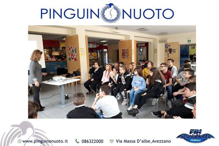#pinguinonuoto scuola di campioni Si è tenuto oggi per la nostra squadra agonistica un…
