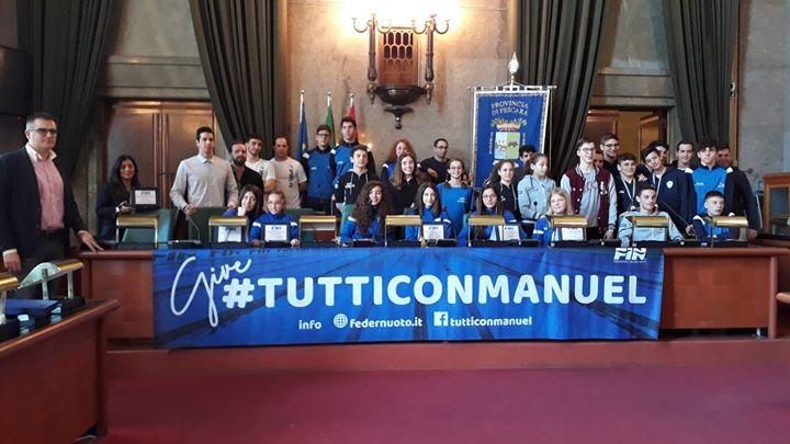 Premio FIN ABRUZZO 2018 Presidente del Coni Regionale Presidente Comitato Regionale Abruzzo FIN Cristiano…