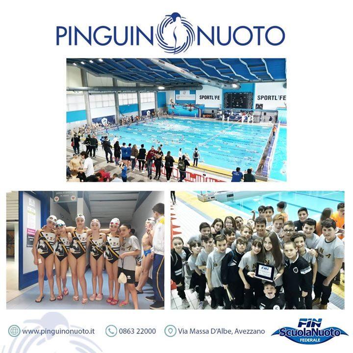 Finali primaverili trofeo Abruzzo 2024 Esordienti A/B ️ Pinguino Nuoto Società 4° classificata ⬅️…