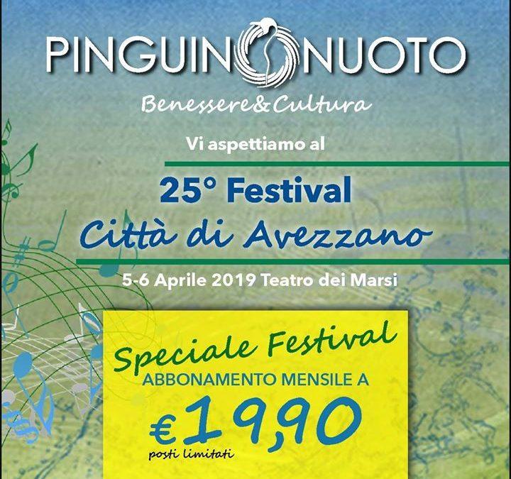 In esclusiva per il 25° Festival Città di Avezzano – Concorso canoro nazionale per…