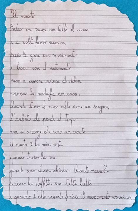 Nelle parole di un bambino il senso di tutto! SIETE LA NOSTRA PASSIONE Grazie…