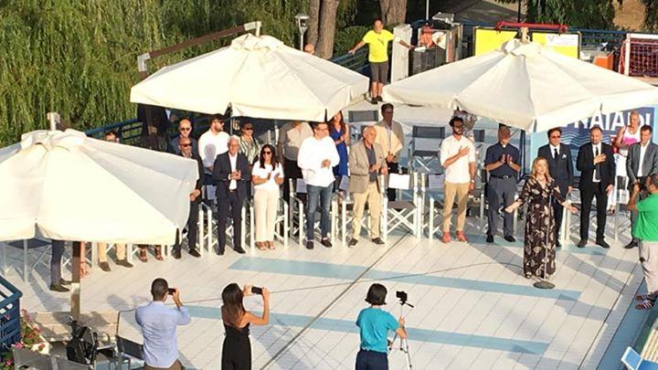 Cerimonia di inaugurazione della piscina olimpionica le Naiadi Attimi di una serata indimenticabile che…