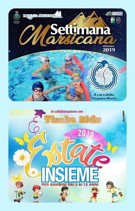 SETTIMANA MARSICANA 2019 🆙️ #CentroEstivoPinguino per un'estate al !! 🆓️ Vieni a scoprire le…