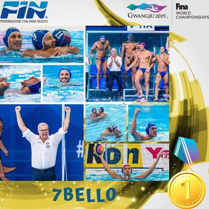 CAMPIONI DEL MONDOOOOOOOOOO!!!!!!!! #7BELLO SUL TETTO DEL MONDO . . #azzurri #settebello