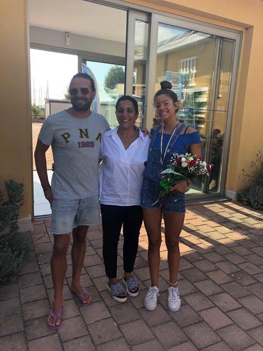 Bentornata Campionessa Si festeggia oggi al Pinguino Village Ritorna dai Campionati Italiani la nostra…