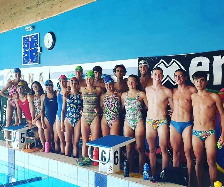 La Nazionale giovanile italiana di triathlon alla Pinguino per un collegiale pre-stagionale